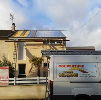 Travaux de toiture joint debout zinc  sur Courseulles sur mer a 20kms de Caen